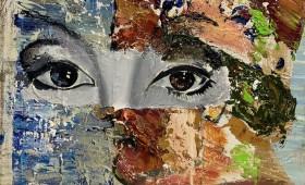 Micky Focke On A Par With Adults 2020 30x30 cm Oil on Canvas