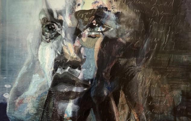 Micky Focke 2020 4 Graces Stoa 21 Mäßigung Moderation Think 120x80 Oil Print Canvas